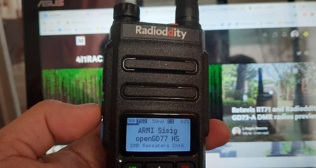openGD77 tips and DMR resources