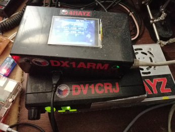 DX1ARM the road to digital radio network