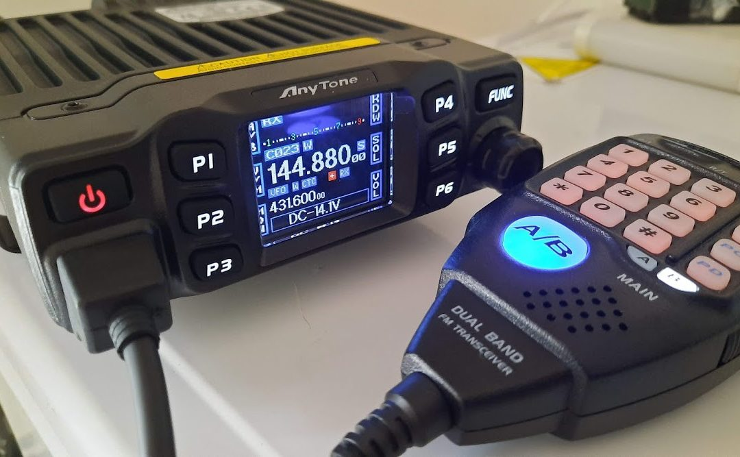 Anytone AT-778UV / Retevis RT-95 first thoughts